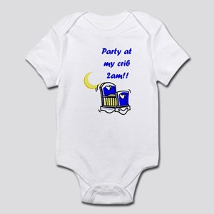Party at the Crib (Boys) Infant Bodysuit