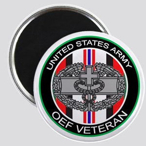 OEF Veteran with CMB Magnet