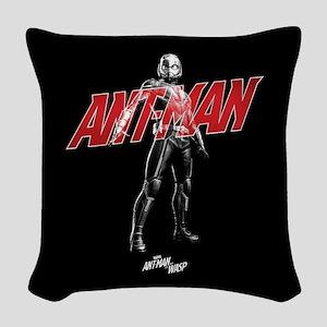 Ant-Man Standing Woven Throw Pillow