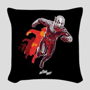 Ant-Man Running Woven Throw Pillow