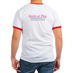 Spirits At Play - Ringed T-Shirt