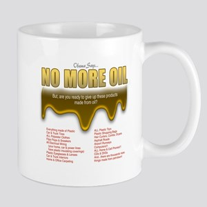No More Oil Mug