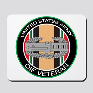 OIF Veteran with CAB Mousepad