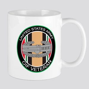 OIF Veteran with CAB Mug