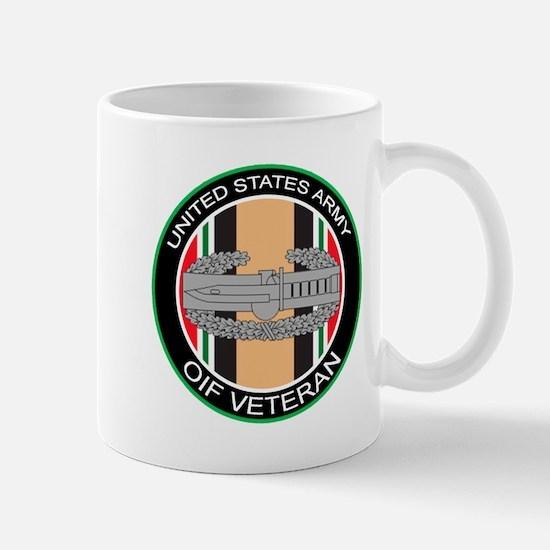 OIF Veteran with CAB Mug