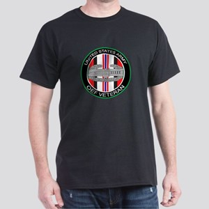 OEF Veteran with CAB Dark T-Shirt
