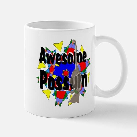Awesome Possum Kaleidoscope Mug