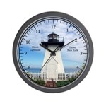 Olcott Lighthouse Wall Clock