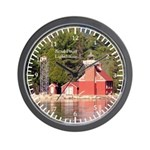 Sand Point Lighthouse Baraga Wall Clock