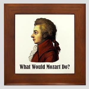 Mozart Framed Tile