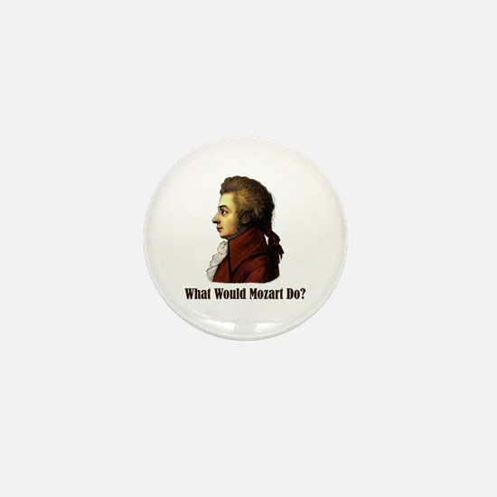Mozart Mini Button