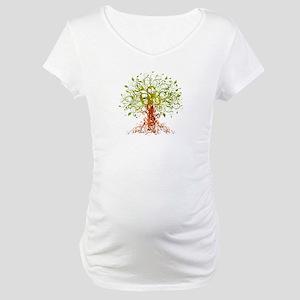 abstract tree Maternity T-Shirt