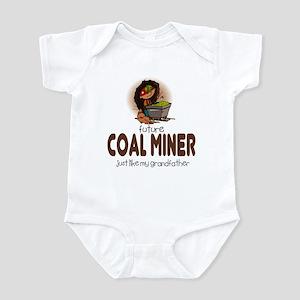 Future Coal Miner like Grandpa Infant Bodysuit
