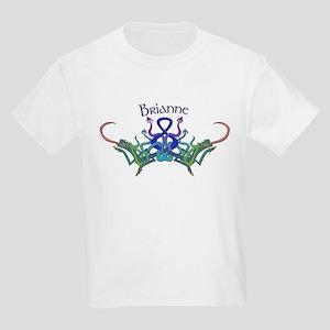 Brianne's Celtic Dragons Name Kids T-Shirt