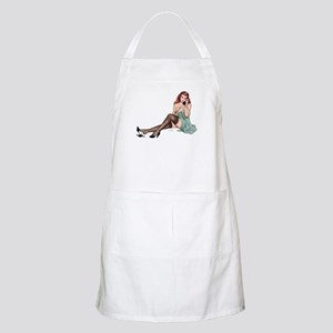 Covered Up Girl BBQ Apron