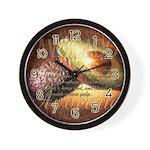 Avocado Art Wall Clock