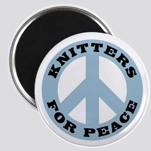 Knitters For Peace Magnet