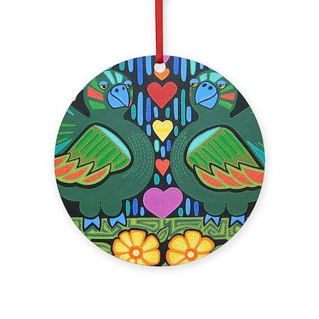 Love Birds Ornament (Round)