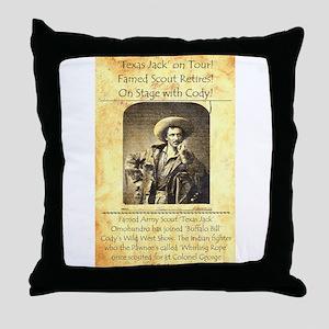 Texas Jack Throw Pillow