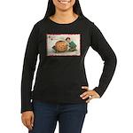 Pumpkin Boy Women's Long Sleeve Dark T-Shirt