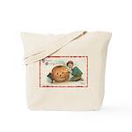 Pumpkin Boy Tote Bag