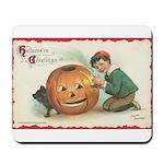 Pumpkin Boy Mousepad