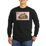 Pumpkin Boy Long Sleeve Dark T-Shirt