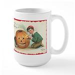 Pumpkin Boy Large Mug