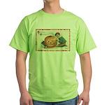 Pumpkin Boy Green T-Shirt