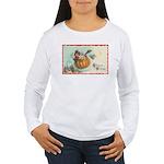 Flying Pumpkin Women's Long Sleeve T-Shirt