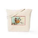 Flying Pumpkin Tote Bag
