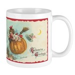 Flying Pumpkin Mug