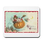 Flying Pumpkin Mousepad