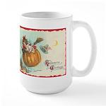 Flying Pumpkin Large Mug