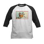 Flying Pumpkin Kids Baseball Jersey