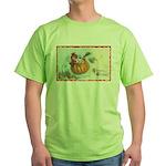 Flying Pumpkin Green T-Shirt