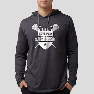Live Love Lacrosse Lacrosse Pl Long Sleeve T-Shirt