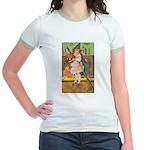Witch Girl Jr. Ringer T-Shirt