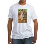 Witch Girl Fitted T-Shirt
