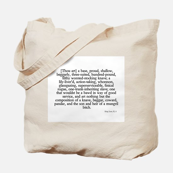 longest insult Tote Bag