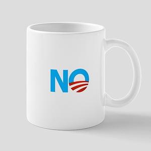 Obama NO Logo Mug