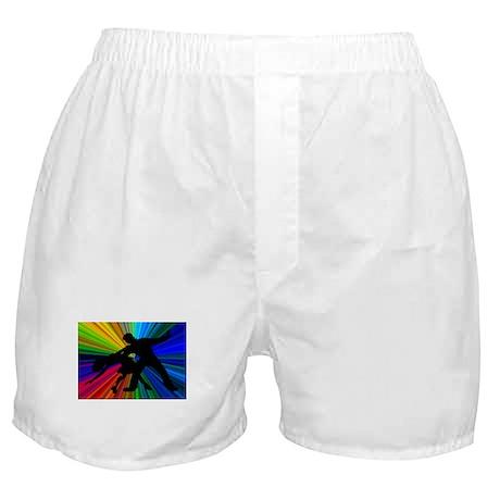 Dazzling Dance Silhouettes Boxer Shorts