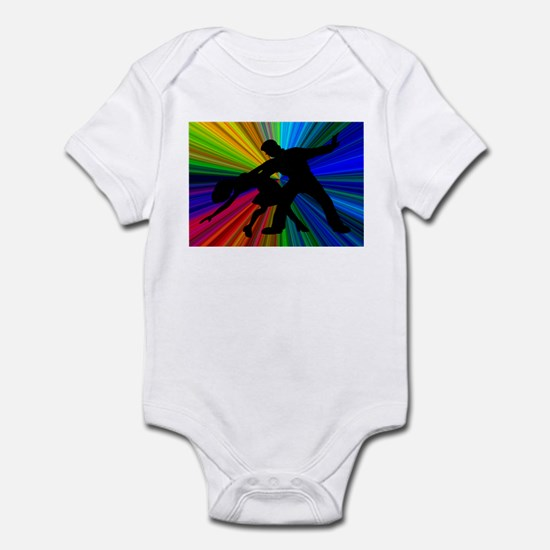 Dazzling Dance Silhouettes Infant Bodysuit