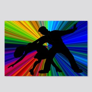 Dazzling Dance Silhouettes Postcards (Package of 8