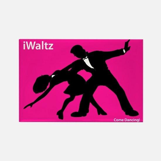 iWaltz Ballroom Dance Rectangle Magnet (10 pack)