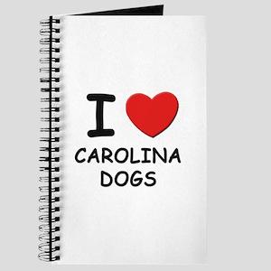 I love CAROLINA DOGS Journal