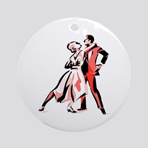 It's Only Natural Dance Ornament (Round)