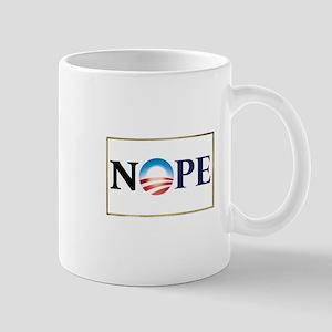 Barack Obama NOPE Mug
