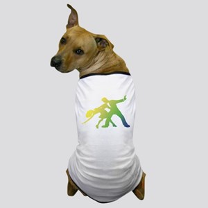 Rainbow Dancer Silhouettes Dog T-Shirt