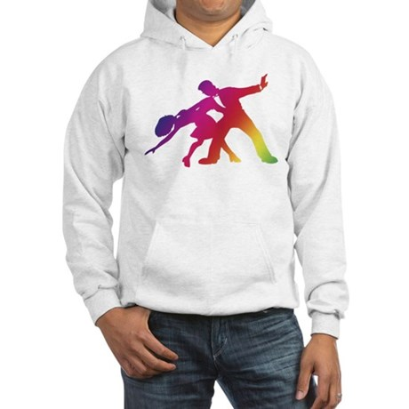 Rainbow Dancer Silhouettes Hooded Sweatshirt